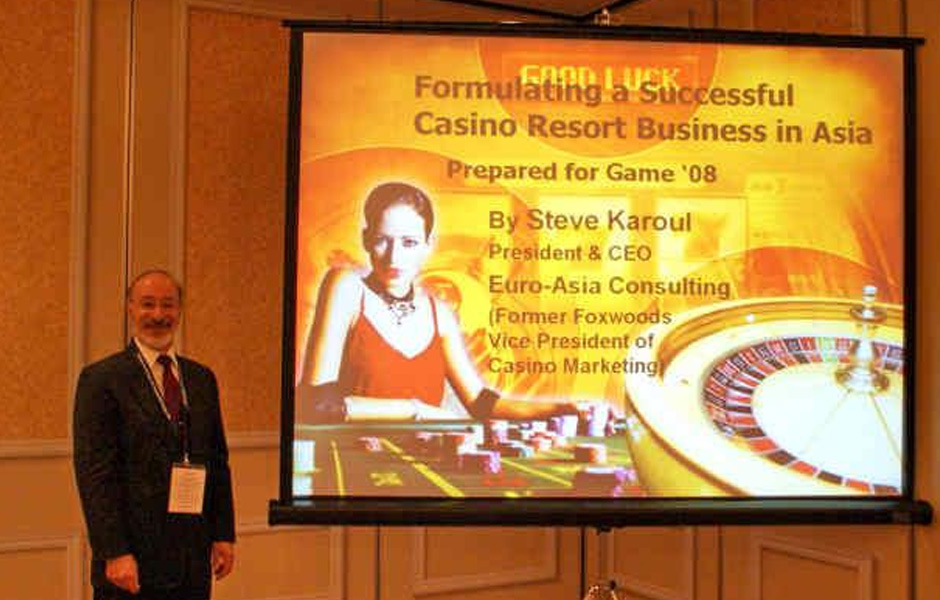 Casino and former and consultant problem gambling prevention programs